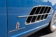 Логотип Феррари Pininfarina на дисплее Стоковое фото RF