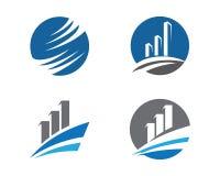 Логотип финансов Стоковая Фотография RF