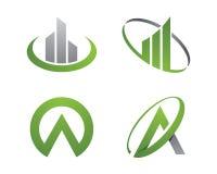 Логотип финансов Стоковые Фотографии RF