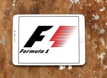 Логотип Формула-1 Стоковые Изображения RF