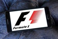 Логотип Формула-1 Стоковые Изображения
