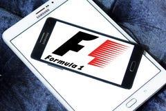 Логотип Формула-1 Стоковая Фотография RF