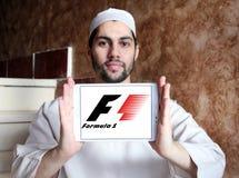 Логотип Формула-1 Стоковое Изображение