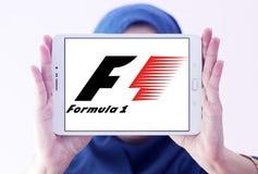 Логотип Формула-1 Стоковое фото RF