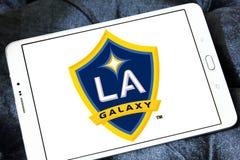 Логотип футбольного клуба галактики Лос-Анджелеса Стоковое фото RF