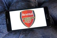 Логотип футбольного клуба арсенала Стоковая Фотография