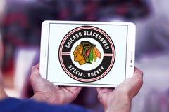 Логотип хоккейной команды Чикаго Blackhawks Стоковое Фото