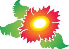 Логотип цветка иллюстрация вектора