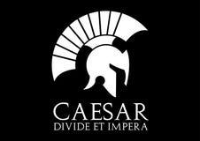 Логотип цезаря Стоковое Изображение RF