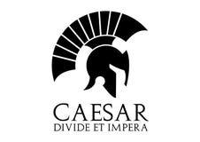 Логотип цезаря Стоковое Изображение