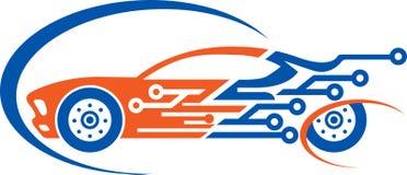 Логотип цепи автомобиля стоковое фото