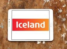 Логотип цепи супермаркетов Исландии Стоковая Фотография