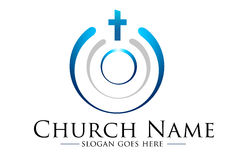 Логотип церков Стоковое Изображение RF