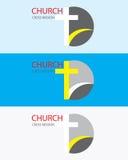 Логотип церков Стоковые Фото