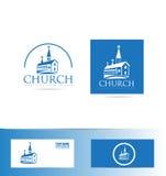 Логотип церков Стоковые Изображения RF