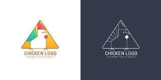 Логотип цыпленка Стоковая Фотография