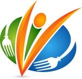 Логотип шеф-повара ресторана Стоковая Фотография RF