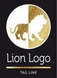 Логотип льва Стоковые Изображения