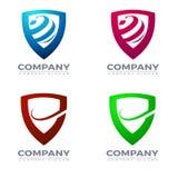 Логотип экрана и вектор значков Стоковое Изображение