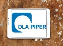 Логотип юридической фирмы волынщика DLA стоковые фото