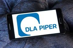 Логотип юридической фирмы волынщика DLA стоковая фотография
