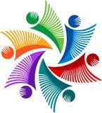 Логотип людей Стоковое Фото