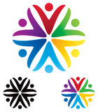 Логотип людей бесплатная иллюстрация