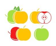 Логотип Яблока E Стоковые Фото