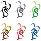 Логотип 2018 Стоковая Фотография