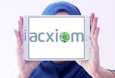 Логотип Acxiom Корпорации Стоковые Изображения RF