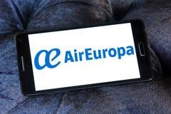 Логотип Air Europa Стоковое Фото