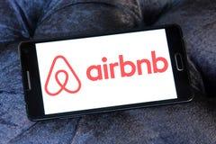 Логотип Airbnb стоковое изображение