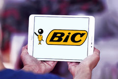 Логотип Bic стоковое изображение rf
