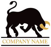 Логотип Bull Стоковое фото RF