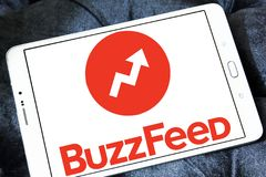 Логотип BuzzFeed Стоковая Фотография