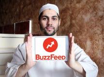 Логотип BuzzFeed Стоковые Изображения RF