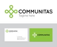 Логотип Communitas Стоковое Фото
