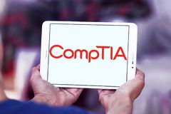 Логотип CompTIA Стоковые Изображения RF