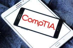 Логотип CompTIA Стоковое фото RF