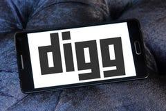 Логотип Digg Стоковое Фото