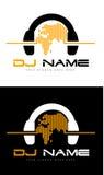 Логотип DJ Стоковое Изображение RF