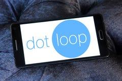 Логотип Dotloop Стоковое Изображение
