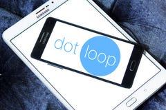 Логотип Dotloop Стоковые Фото