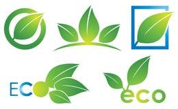 Логотип Eco иллюстрация вектора