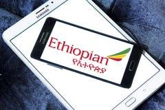 Логотип Ethiopian Airlines Стоковые Изображения RF