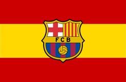 Логотип FC Barcelona Стоковая Фотография RF