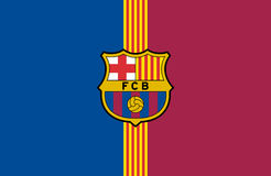 Логотип FC Barcelona Стоковые Фото