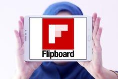 Логотип Flipboard Стоковое Изображение