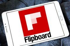 Логотип Flipboard Стоковое Изображение RF