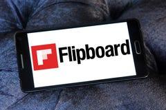 Логотип Flipboard Стоковые Фото